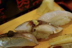 太刀魚に〆鯖に〆秋刀魚