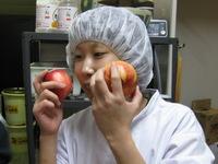 リンゴのほっぺの・・・梨沙さんでした。