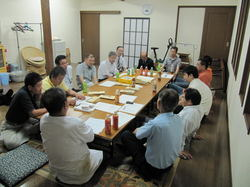 沢山の会員が知恵を絞った会議