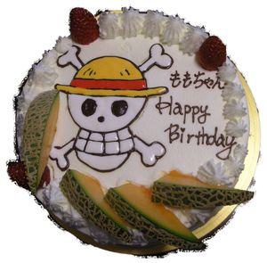 ももちゃんのお誕生ケーキ